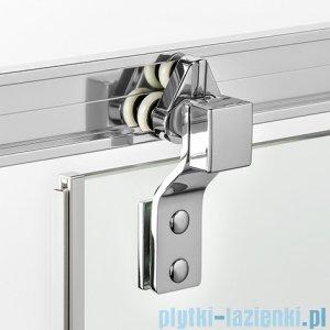 New Trendy kabina prostokątna Porta 100x80x200cm prawa przejrzyste EXK-1046/EXK-1109