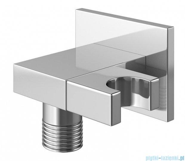 Kohlman Saxo zestaw wannowo-prysznicowy chrom QW211SQ25