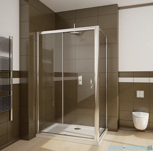 Radaway Premium Plus DWJ+S kabina prysznicowa 140x90cm szkło fabric 33323-01-06N/33403-01-06N