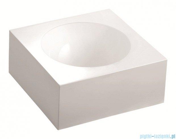 Marmorin umywalka nablatowa Rea 40cm bez otworu biała 201040020010