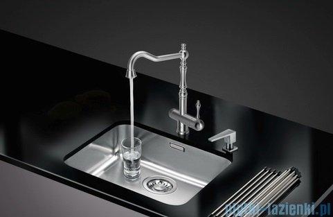 Blue Water Platina bateria kuchenna z podłączeniem do wody filtrowanej stal szczotkowana 5901730612820