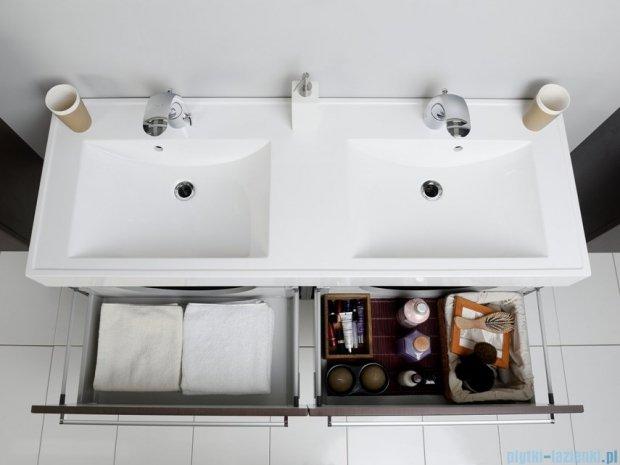 Antado Variete szafka z umywalką, wisząca 140 wenge mat FDM-442/7GT + FDM-442/7GT + UNAM-1404D