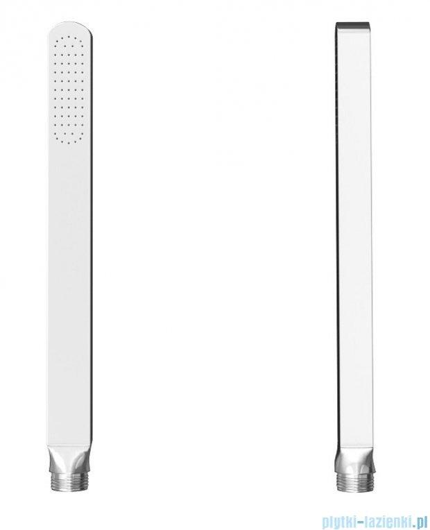 Kohlman Foxal zestaw prysznicowy z baterią termostatyczną chrom QW432FR25