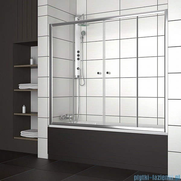 Radaway Vesta DWD Drzwi przesuwne 180 cm szkło fabric 203180-06