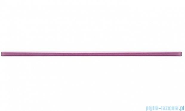 Tubądzin Glass violet listwa ścienna 1x44,8