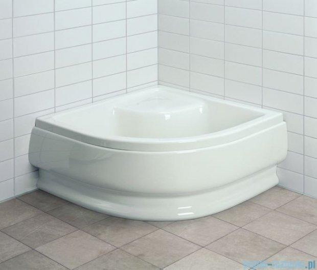 Aquaform Standard brodzik półokrągły 90x90x25,5cm głęboki z siedziskiem i systemem antypoślizgowym 18602