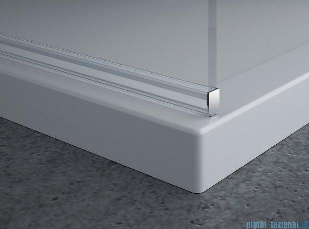 SanSwiss Pur PDT4P Ścianka wolnostojąca 70cm profil chrom szkło Master Carre PDT4P0701030
