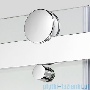 New Trendy Ultima kabina prysznicowa półokrągła przejrzysta 90x90  EXK-1024