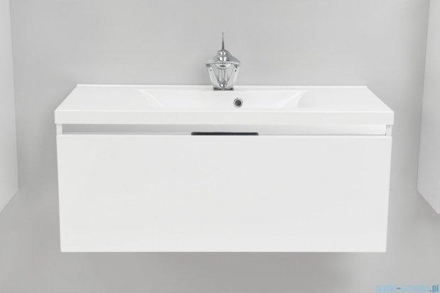 Antado Cantare szafka z umywalką 100x48x40 biały połysk FSM-342/10GT-47/47 + UMML-1000C