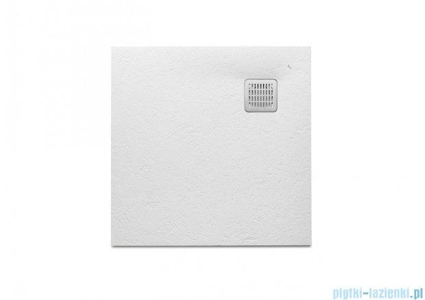 Roca Terran 90x90x2,6cm Brodzik kwadratowy biały Kompozyt AP0338438401100