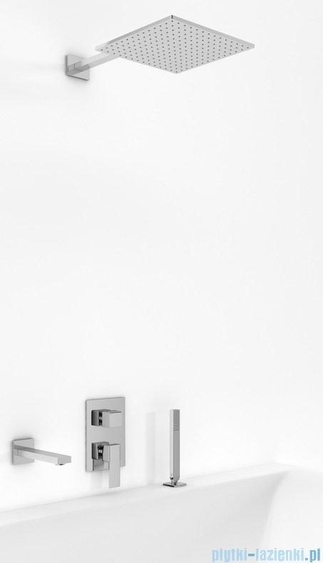 Kohlman Excelent zestaw wannowo-prysznicowy chrom QW211HQ25-007