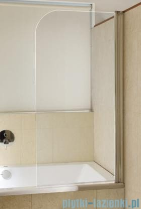 Omnires parawan nawannowy 1-częściowy 70x140cm prawy szkło przejrzyste QP93B-PTR