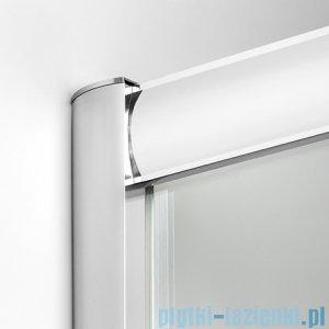 New Trendy Varia kabina prysznicowa 90x90x185 cm szkło grafitowe K-0228