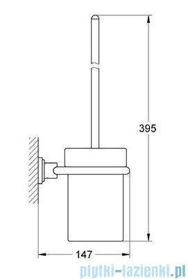 Grohe Atrio szczotka toaletowa kpl. chrom 40314000