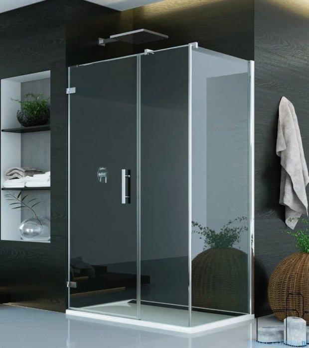 SanSwiss Pur PU31 Kabina prysznicowa 140x80cm lewa szkło przejrzyste PU31PG1401007/PUDT3P0801007