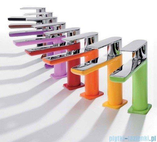 Tres Loft Colors Bateria umywalkowa z korkiem automatycznym kolor biały 200.103.01.BL.D