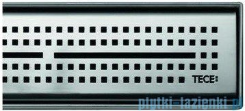 Tece Ruszt prosty Quadratum ze stali nierdzewnej Tecedrainline 120cm połysk 6.012.50