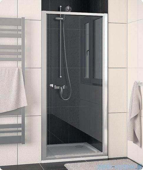SanSwiss Eco-Line Drzwi 1-częściowe Ecop 90cm profil połysk szkło przejrzyste ECOP09005007