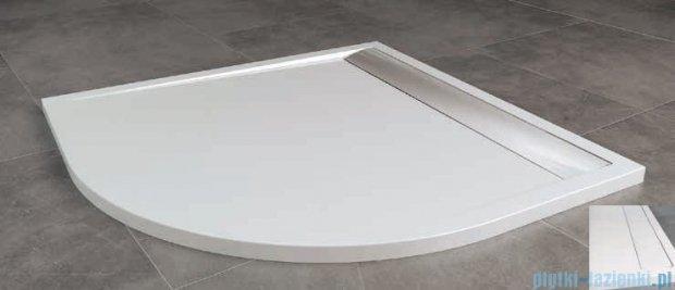 SanSwiss Ila Wir Brodzik półokrągły 100x100cm kolor biały/biały WIR551000404