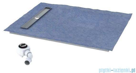 Schedpol brodzik posadzkowy podpłytkowy ruszt Stamp 100x80x5cm 10.007/OLKB/SP