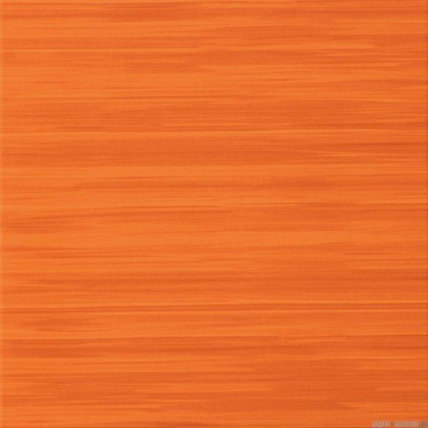 Tubądzin Wave orange płytka podłogowa 45x45
