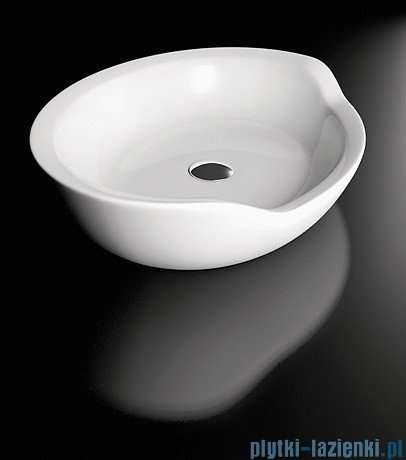 Marmorin umywalka nablatowa Siwa 54x40 cm biała P535054020010
