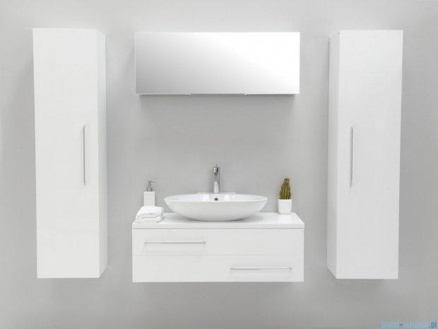 Antado Susanne szafka z umywalką Conti biała 95x46cm AS-140/95-WS+AS-B/4-140/95-WS+UCT-TP-37x59