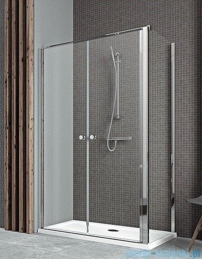 Radaway Eos II DWD+S kabina prysznicowa 80x75cm lewa szkło przejrzyste 3799490-01/3799409-01R