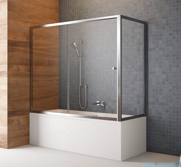 Radaway Vesta Dwj+s parawan nawannowy 160x75cm szkło fabric 209116-01-06/204075-06