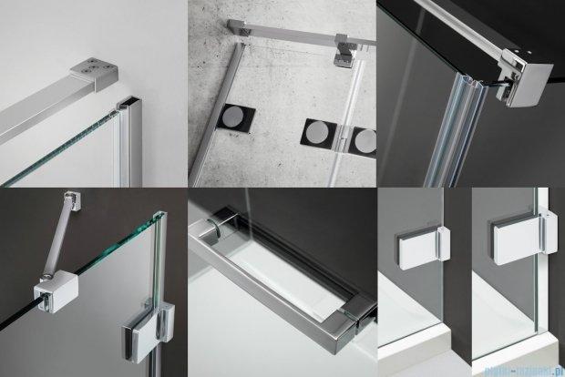 Radaway Euphoria KDJ Drzwi prysznicowe 80 prawe szkło przejrzyste 383043-01R