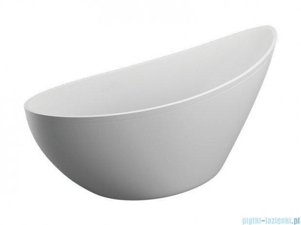 Polimat Zoe wanna wolnostojąca z obudową biała 180x80 cm + syfon 00827/00997