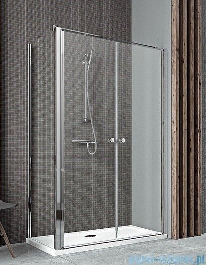 Radaway Eos II DWD+S kabina prysznicowa 100x75cm prawa szkło przejrzyste 3799492-01/3799409-01L
