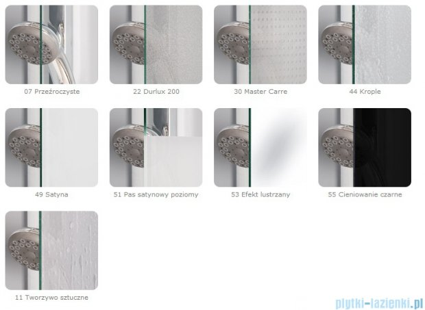 SanSwiss Swing Line SLB1 Parawan 1-częściowy 70cm profil srebrny Prawy SLB1D07000107