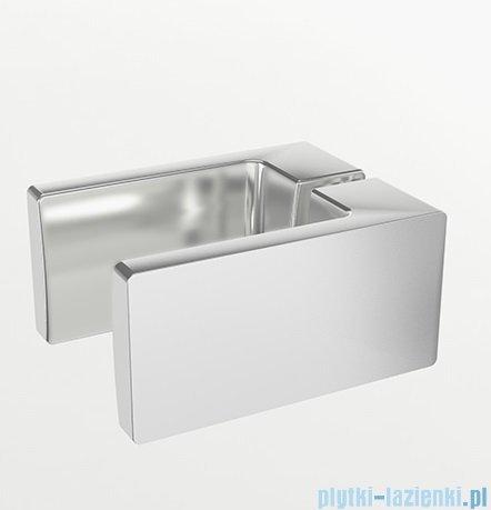 New Trendy Reflexa 140x200 cm drzwi wnękowe prawa przejrzyste EXK-1217