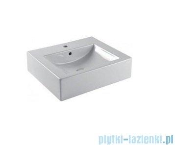 Aquaform Merida umywalka ceramiczna Twins 50cm biała 0448-620000