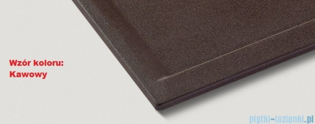 Blanco Zenar 45 S Zlewozmywak Silgranit PuraDur  prawy  kolor: kawowy   z kor. aut. i akcesoriami  519260