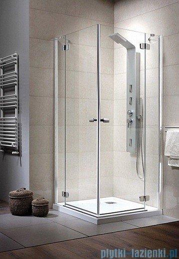 Radaway Kabina prysznicowa Fuenta KDD 100x90 szkło intimato 381064-12L
