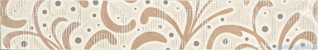 Tubądzin Gobi beige ornament listwa ścienna 9,8x60,8