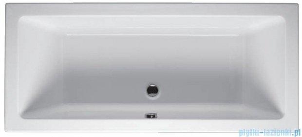 Riho Lusso Wanna prostokątna 180x80 z hydromasażem PRO Hydro 8+6+2/Aero16 BA98P8