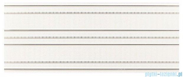 Tubądzin Abisso white 1 dekor ścienny 29,8x74,8