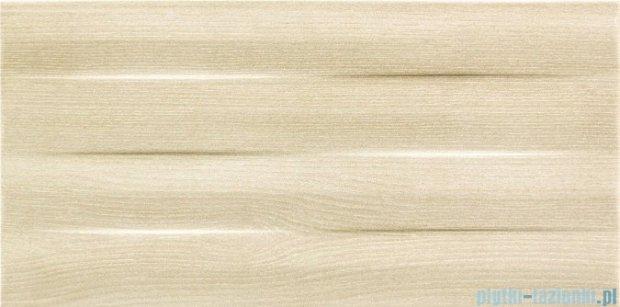 Tubądzin Ilma beige struktura płytka ścienna 22,3x44,8