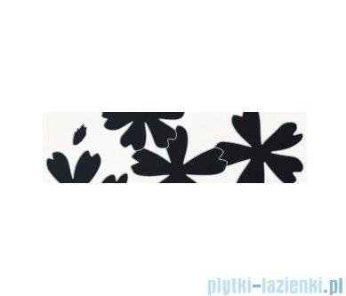 Listwa ścienna Tubądzin Colour Flower White 2 59,3x16,25