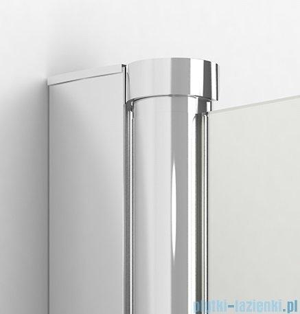 New Trendy New Soleo drzwi wnękowe bifold 80x195 cm przejrzyste lewe D-0131A