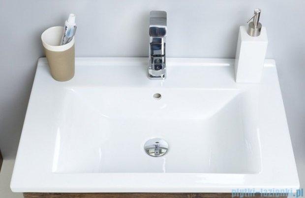 Antado Variete ceramic szafka z umywalką ceramiczną 2 szuflady 62x43x50 szary połysk FM-AT-442/65/2GT-K917+UCS-AT-65