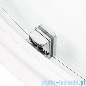 New Trendy New Maxima kabina asymetryczna 100x80x190cm przejrzyste K-0298