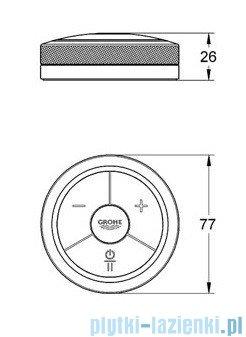 Grohe Veris F-digital Elektroniczny sterowanik wannowo-prysznicowy chrom 36309000