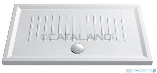 Catalano Verso 120x80 brodzik ceramiczny 120x80x6 cm biały 180120H600
