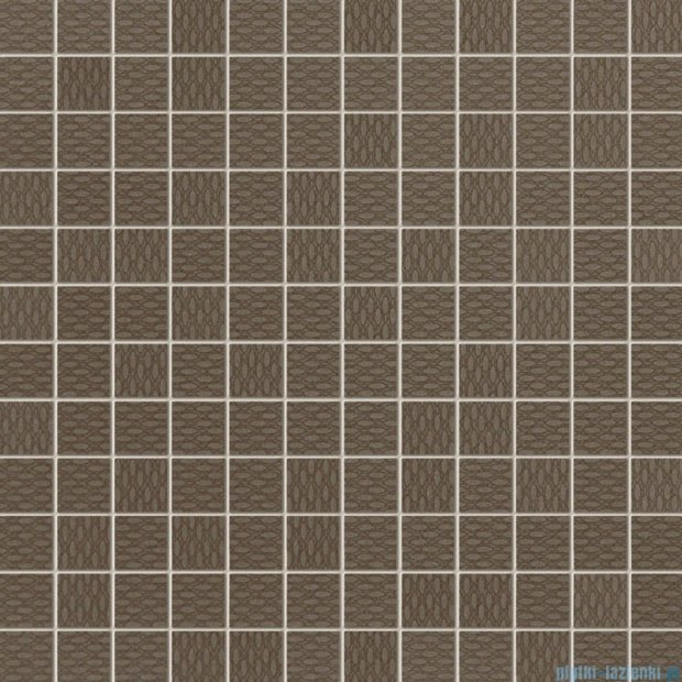 Tubądzin Elle chocolate mozaika ścienna 29,8x29,8
