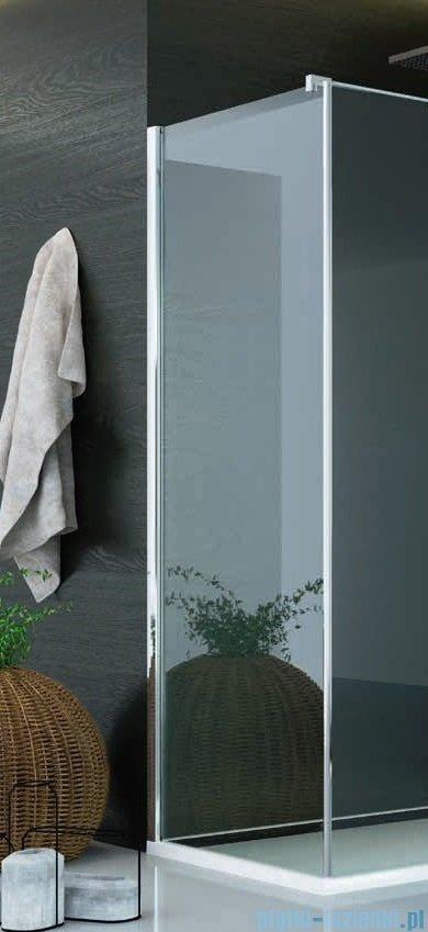 SanSwiss Pur PUDT3P Ścianka boczna 90x200cm pas satynowy PUDT3P0901051