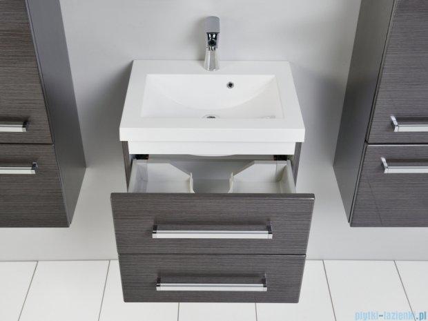 Antado Spektra szafka z umywalką, wisząca 50x39x40 grafit połysk FDF-C-442/5/2GT-46 + UMMC-500x390